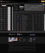 24option (No Binary Options) Trading Platform Screenshot