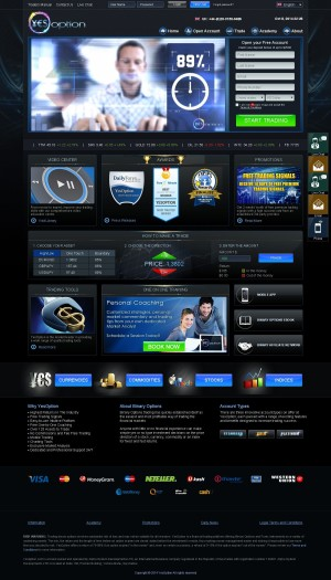 Online binary trading account