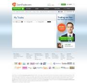 ZoomTrader Trading Platform Screenshot