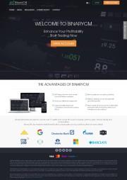 BinaryCM Home Page Screenshot