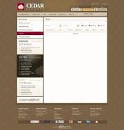 Cedar Finance (Closed) Trading Platform Screenshot
