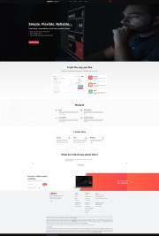 Deriv Home Page Screenshot