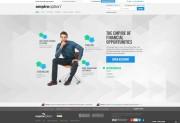 EmpireOption (No Binary Options) Home Page Screenshot