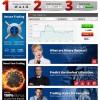 FireOptions Home Page Screenshot