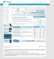 Corsa Capital Home Page Screenshot