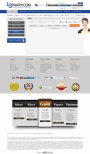 LBinary (Inactive) Trading Platform Screenshot