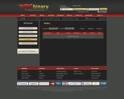 NRGBinary Trading Platform Screenshot