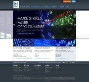 Nadex Home Page Screenshot