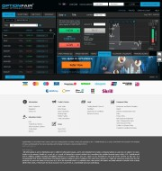 OptionFair (Shut Down) Trading Platform Screenshot