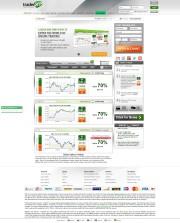 TraderXP Home Page Screenshot