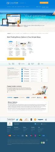 TropicalTrade Home Page Screenshot