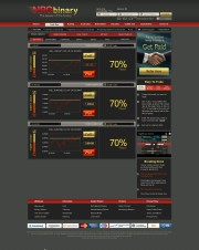 NRGBinary Home Page Screenshot