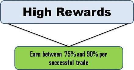 High rewards