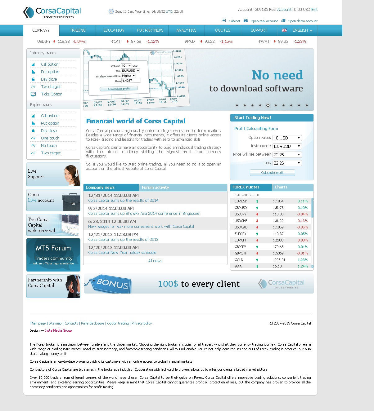 20 deposit binary options brokers minimum