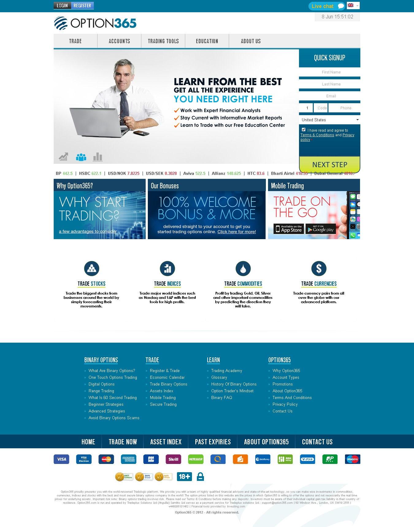 OptionStars Review - Binary Options Brokers | Binary