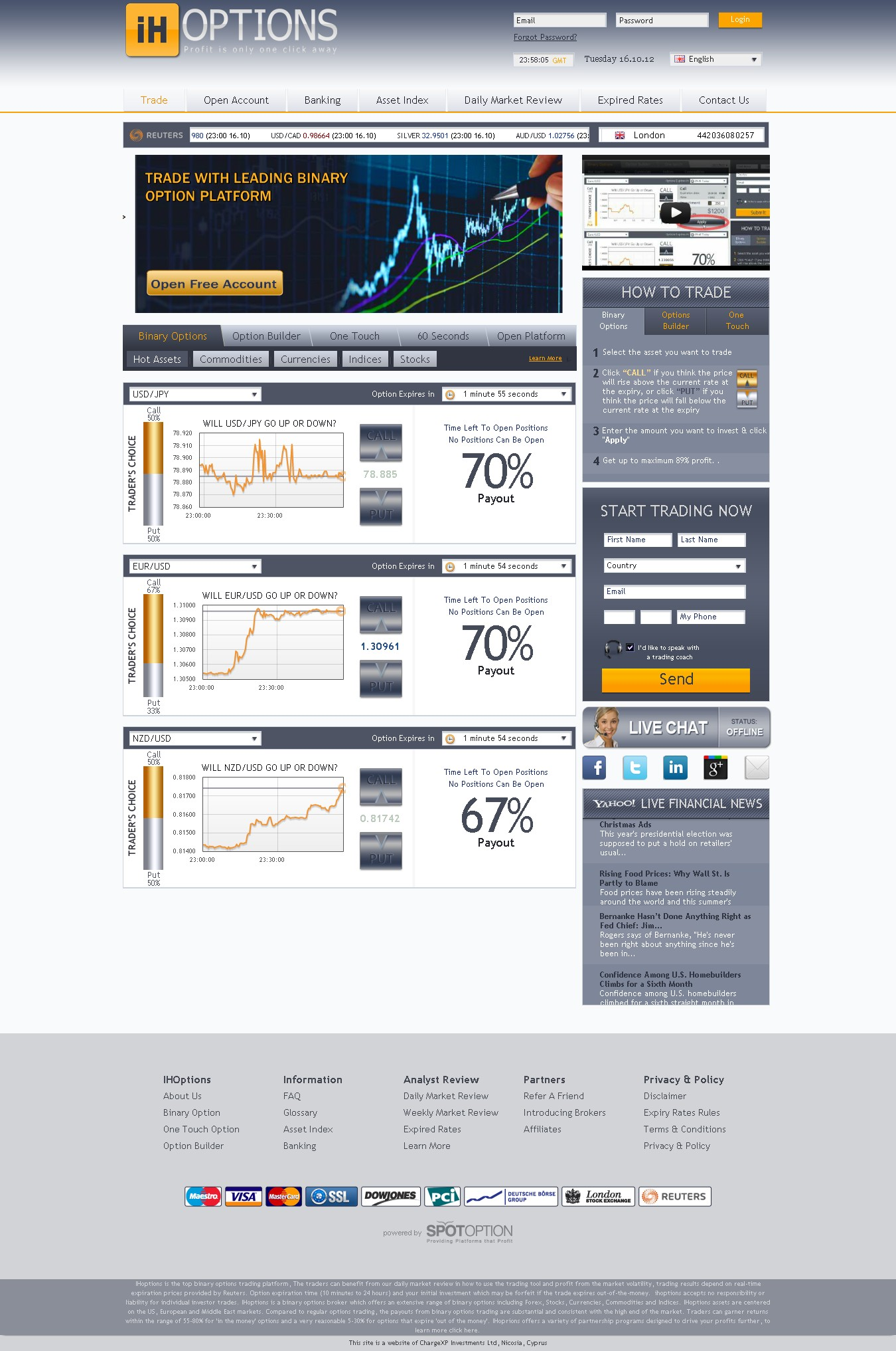 binary options forum australia