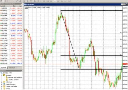 Fibonacci in options trading