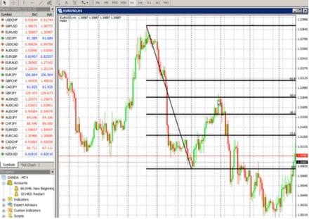 Trading fibonacci numbers options